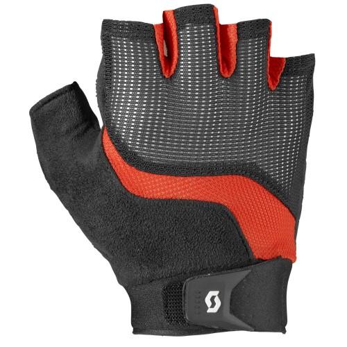 scott essential fahrrad handschuhe kurz schwarz rot 2019. Black Bedroom Furniture Sets. Home Design Ideas