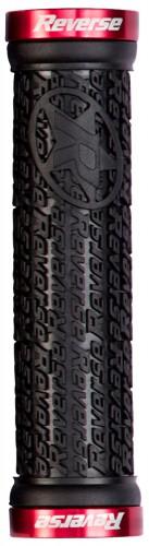 Reverse Grip STAMP Fahrrad Schraubgriffe schwarz/rot