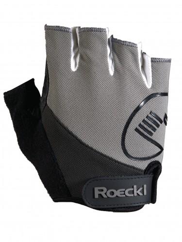 Roeckl Baia Fahrrad Handschuhe kurz grau 2017