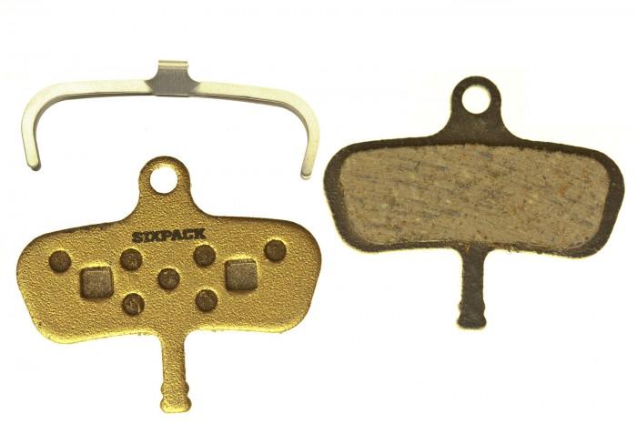 Sixpack Scheibenbremsbelag semi-metallic Avid Code
