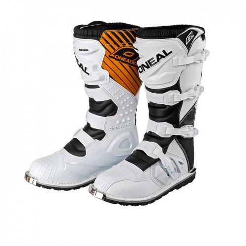 O'neal Rider MX Motocross Supermoto Motorrad Stiefel weiß 2020