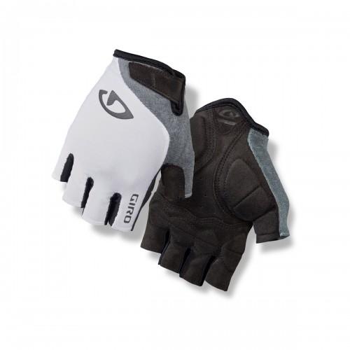 Giro Jag'ette Damen Fahrrad Handschuhe kurz weiß/grau 2021