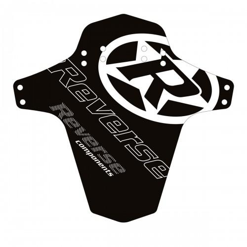 Reverse Mudguard Schutzblech Reverse Logo, schwarz/weiß