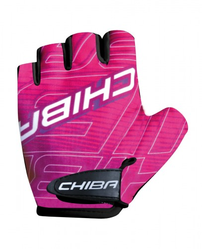 Chiba Kids Kinder Fahrrad Handschuhe kurz pink 2021