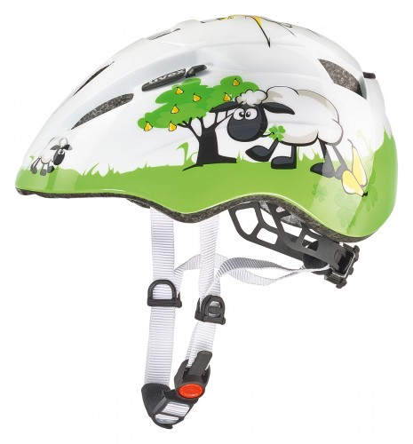 Uvex Kid 2 Dolly Kinder Fahrrad Helm Gr. 46-52 cm weiß/grün 2021