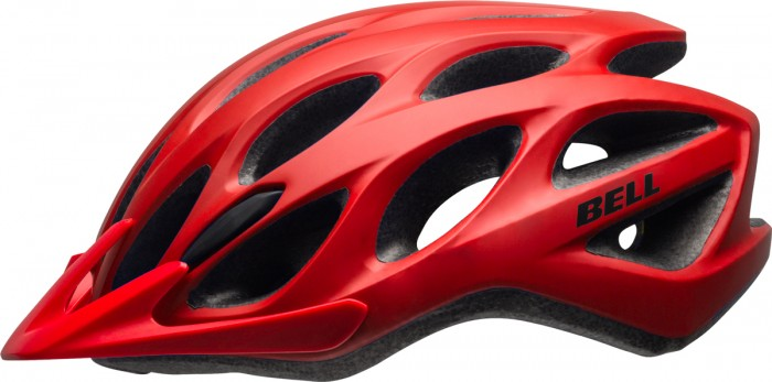 Bell Tracker Fahrrad Helm Gr. 54-61cm rot 2021