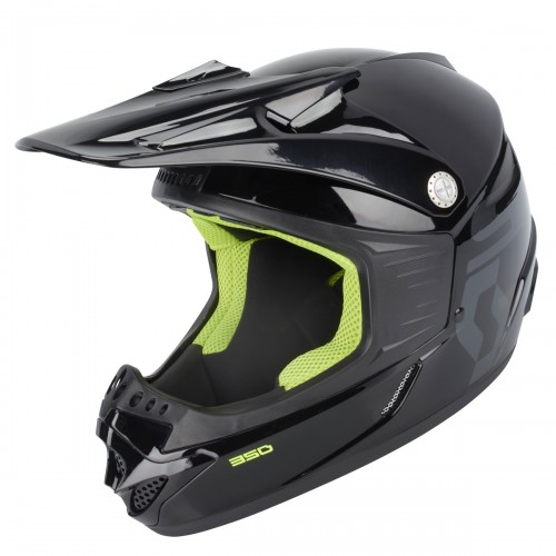 scott 350 pro kinder mx enduro motorrad bike helm. Black Bedroom Furniture Sets. Home Design Ideas