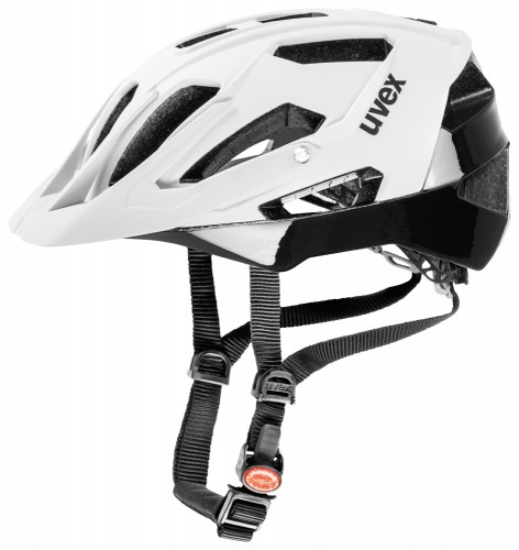 Uvex Quatro MTB Fahrrad Helm weiß matt / schwarz 2018