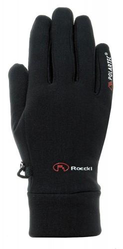 Roeckl Pino Jr Kinder Fahrrad Handschuhe lang schwarz 2021