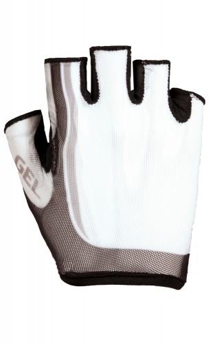 Roeckl Isera Fahrrad Handschuhe kurz weiss/schwarz 2014