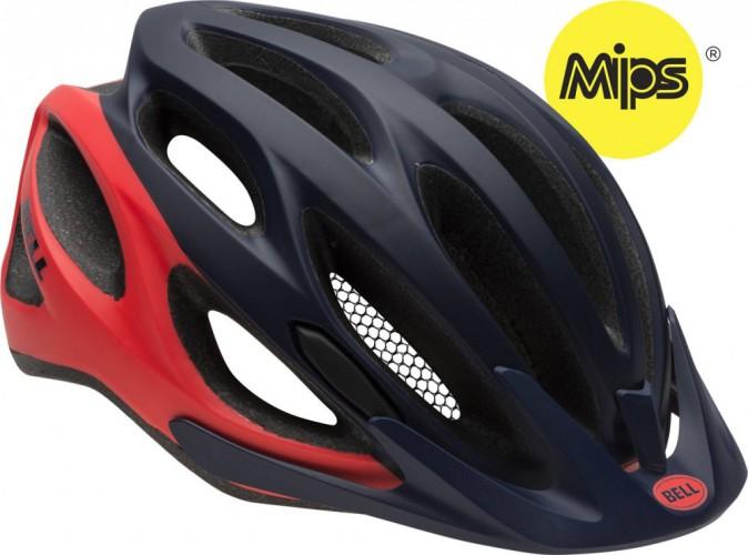 Bell Coast MIPS Damen Fahrrad Helm Gr. 50-57cm blau/rot 2016