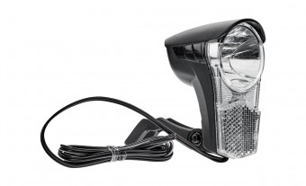 RFR Tour 40 LED Lampe vorne schwarz//grau