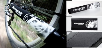 Reverse Comp Lite Fahrrad Sattelstütze 400mm weiß