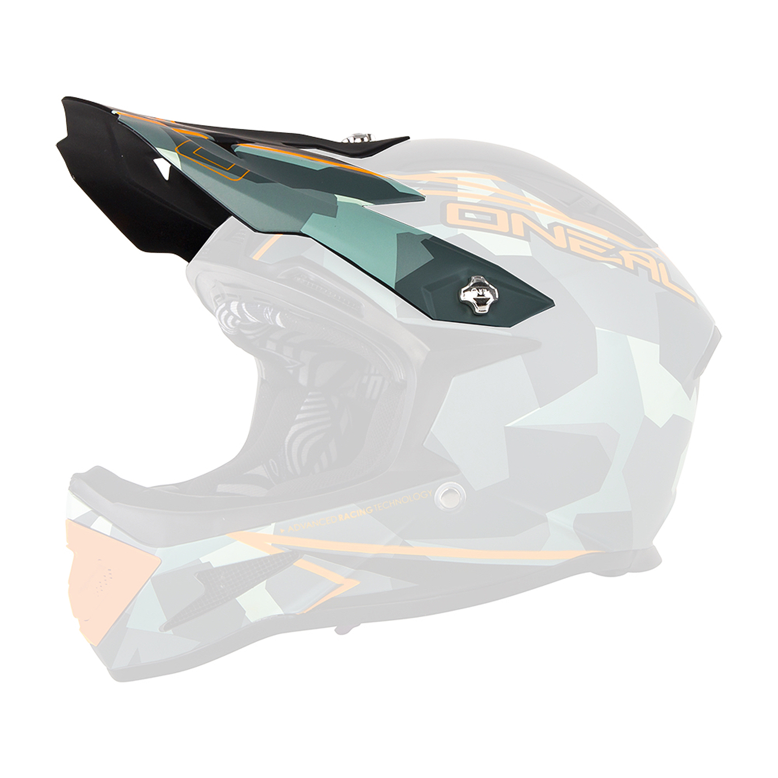 o 39 neal visor warp fidlock camo helm visier grau oneal. Black Bedroom Furniture Sets. Home Design Ideas