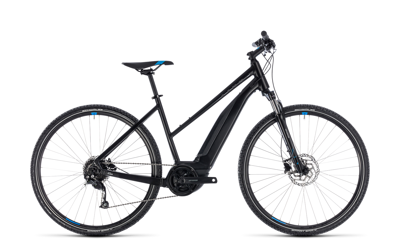cube cross hybrid one 500 damen trekking pedelec e bike. Black Bedroom Furniture Sets. Home Design Ideas