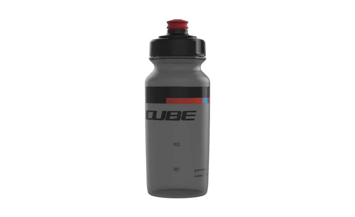 cube teamline fahrrad trinkflasche 0 5l schwarz rot von. Black Bedroom Furniture Sets. Home Design Ideas