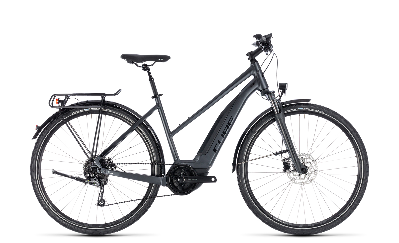 cube touring hybrid one 500 damen trekking pedelec e bike fahrrad grau schwarz 2018 von top. Black Bedroom Furniture Sets. Home Design Ideas