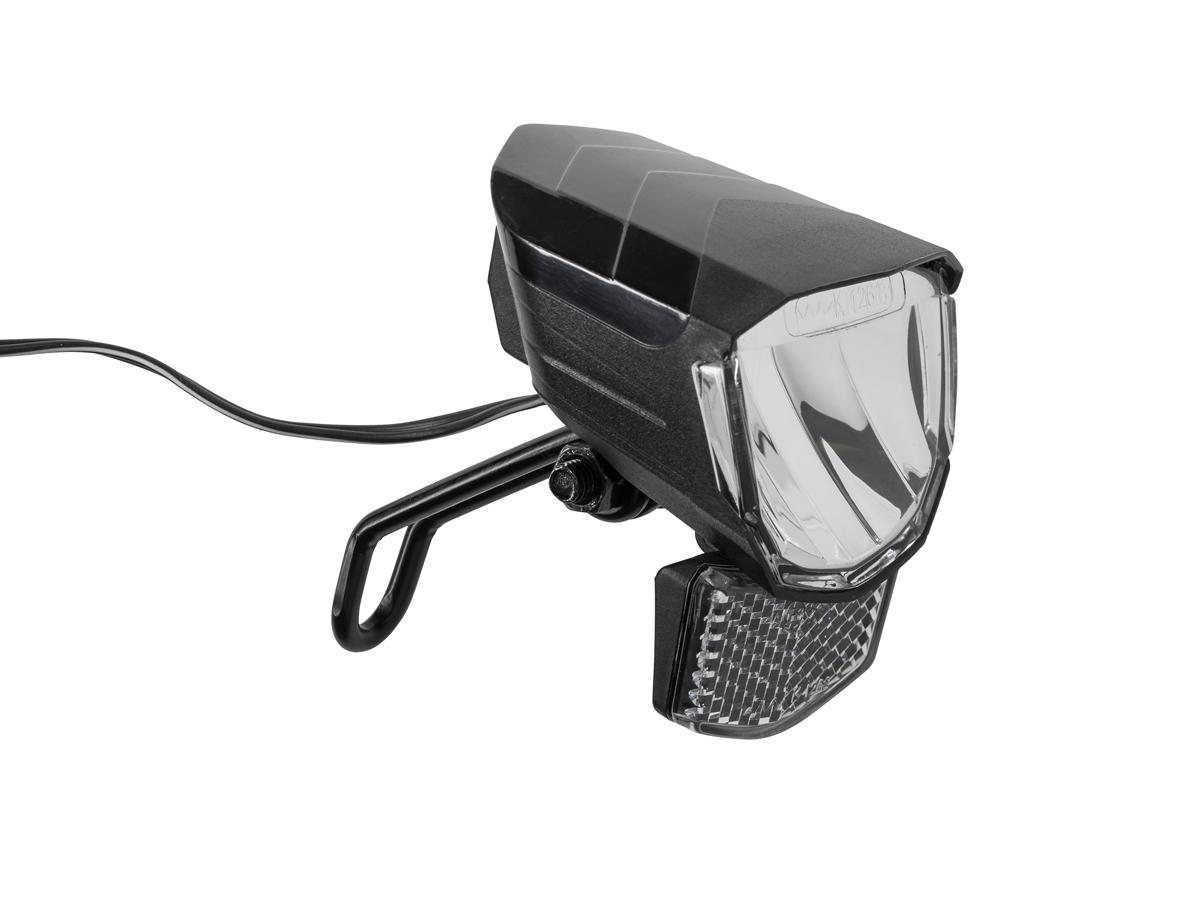 rfr dynamo tour 30 fahrrad lampe vorne schwarz von top. Black Bedroom Furniture Sets. Home Design Ideas