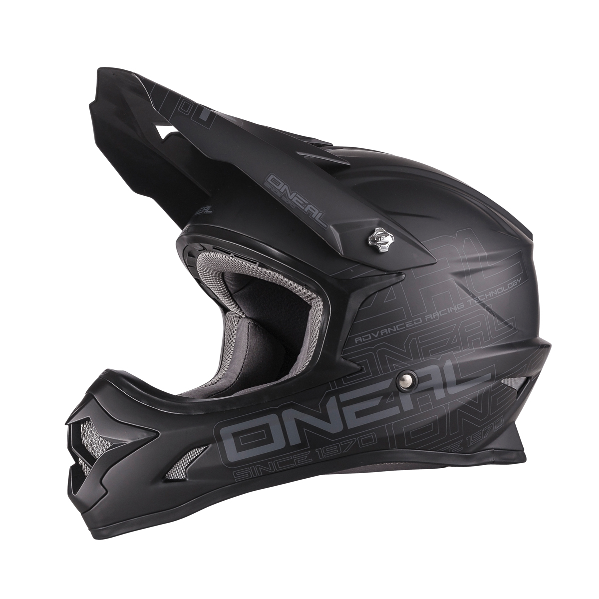 o 39 neal 3 series flat motocross enduro mtb helm schwarz. Black Bedroom Furniture Sets. Home Design Ideas