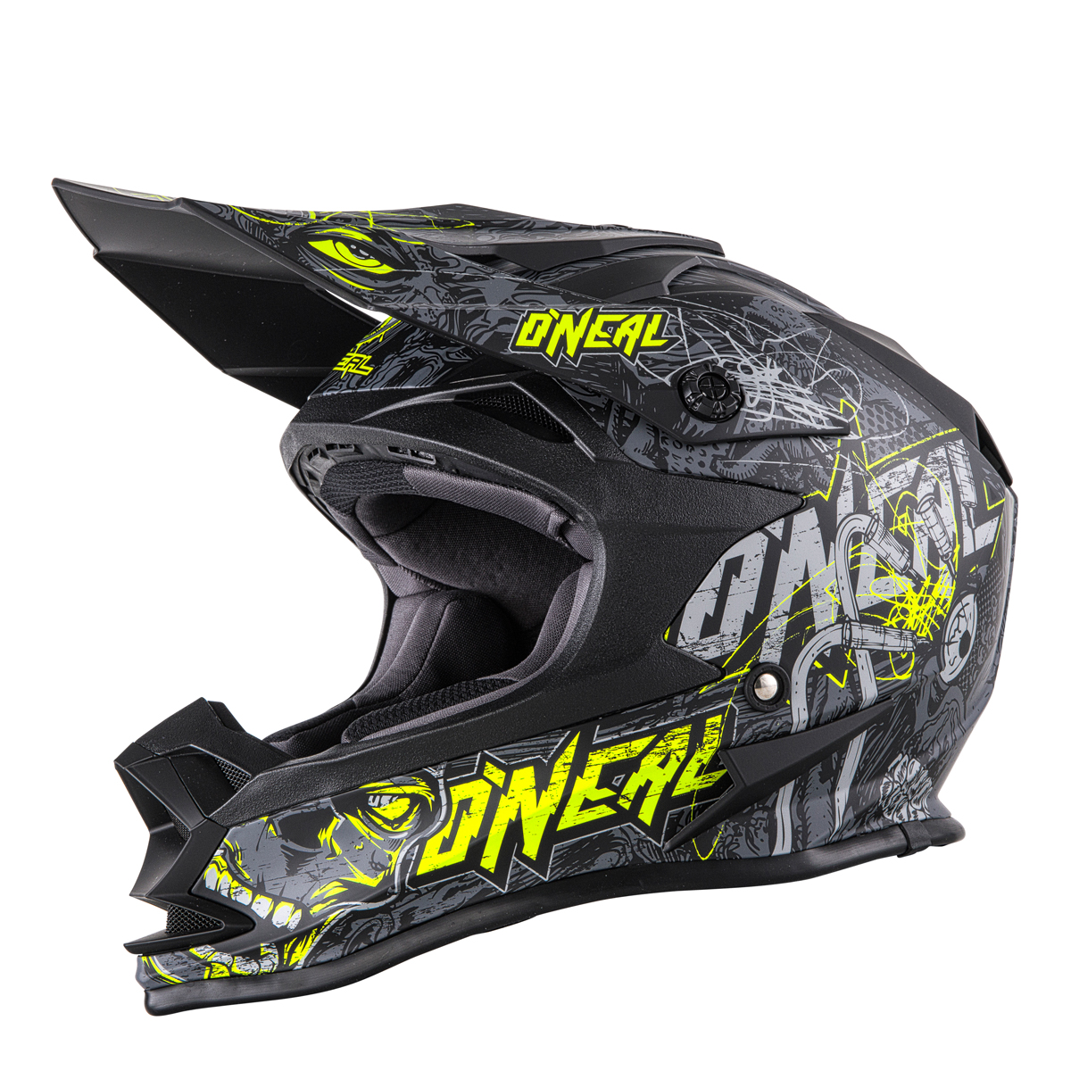 o 39 neal 7 series evo menace motocross enduro mtb helm. Black Bedroom Furniture Sets. Home Design Ideas