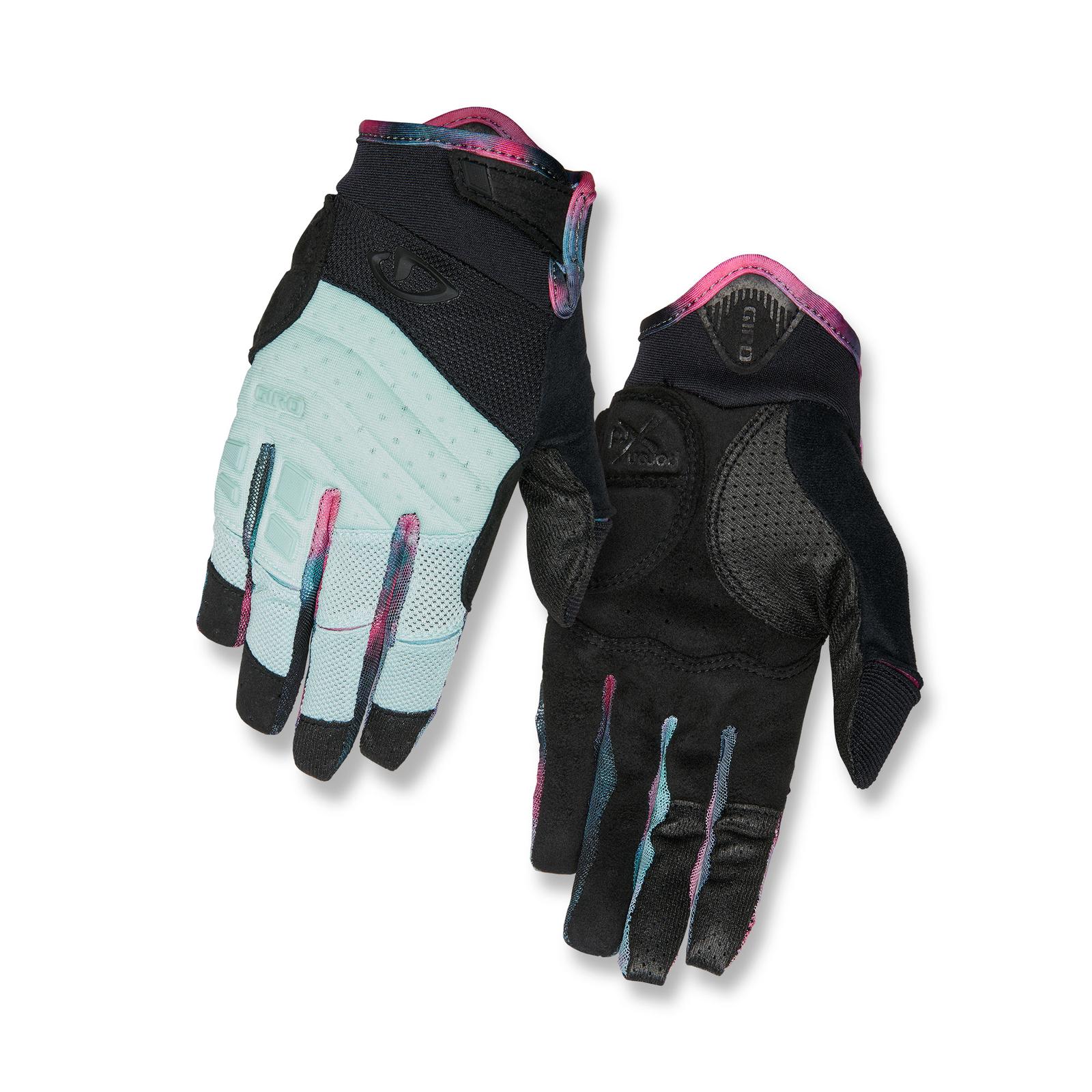 giro xena damen fahrrad handschuhe kurz mint gr n schwarz. Black Bedroom Furniture Sets. Home Design Ideas