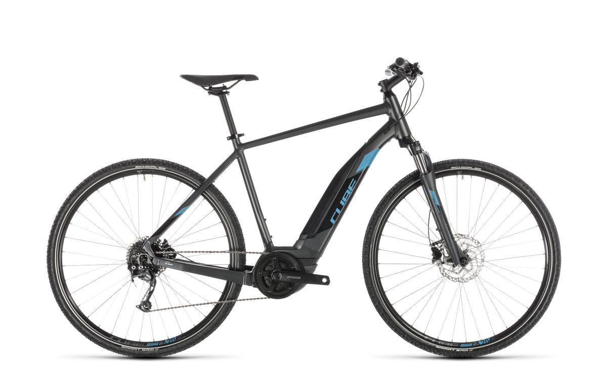 cube cross hybrid one 500 pedelec e bike trekking fahrrad. Black Bedroom Furniture Sets. Home Design Ideas
