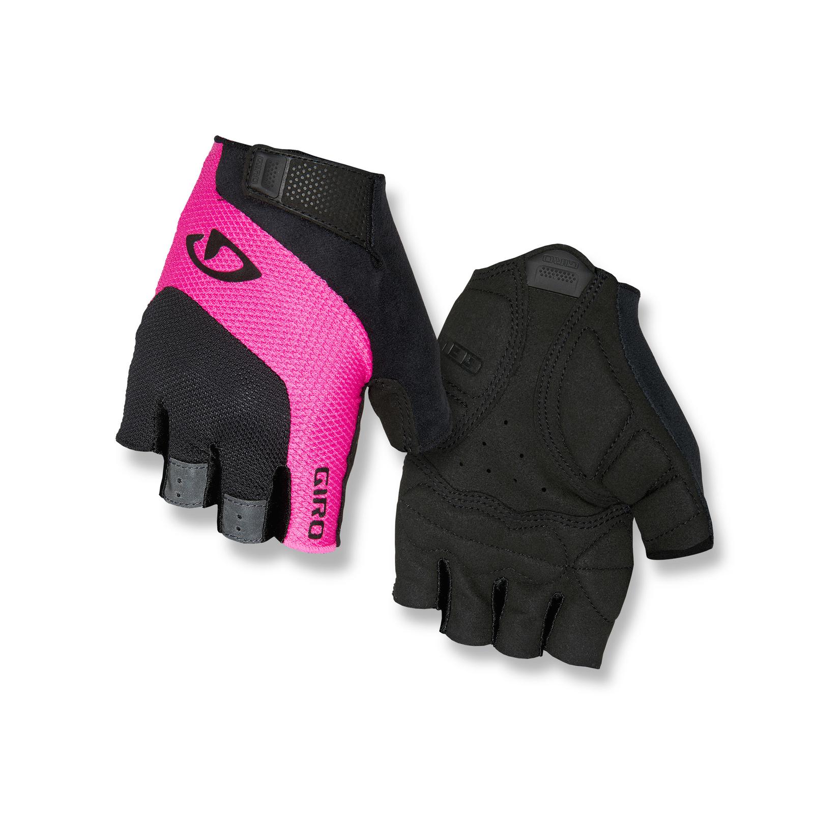 giro tessa damen fahrrad handschuhe kurz schwarz pink 2019. Black Bedroom Furniture Sets. Home Design Ideas