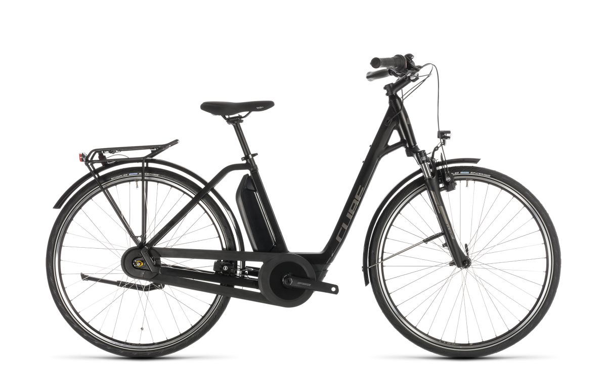 cube town hybrid one 400 easy entry unisex pedelec e bike. Black Bedroom Furniture Sets. Home Design Ideas