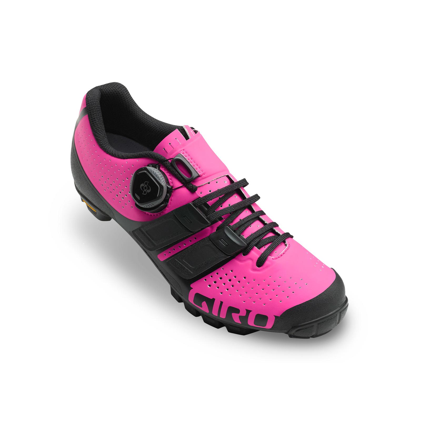 Giro Sica Techlace Damen MTB Schuh 18 blackbright pink