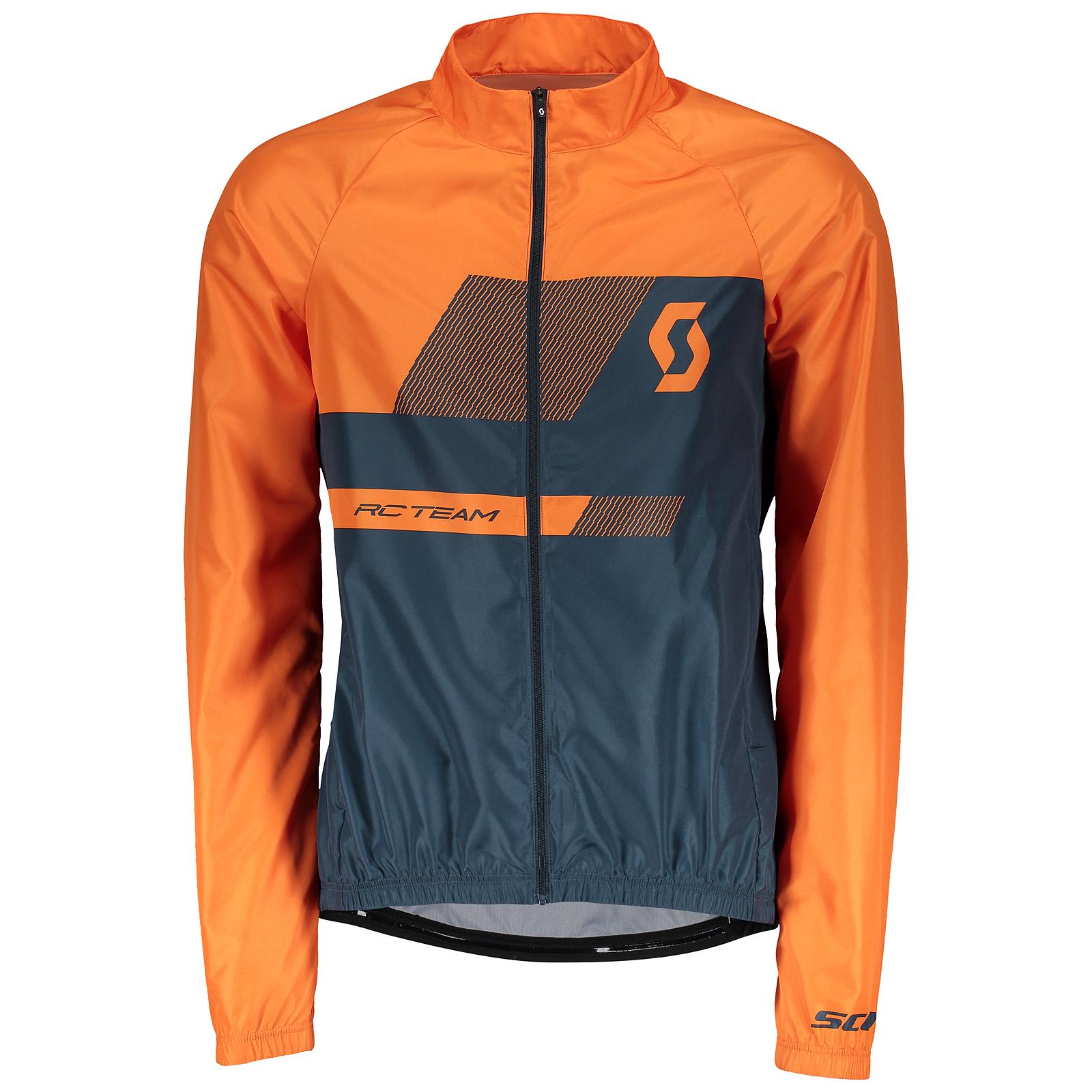 buy popular 4fb0f 0dcc8 Scott RC Team 10 Fahrrad Windjacke orange/blau 2018