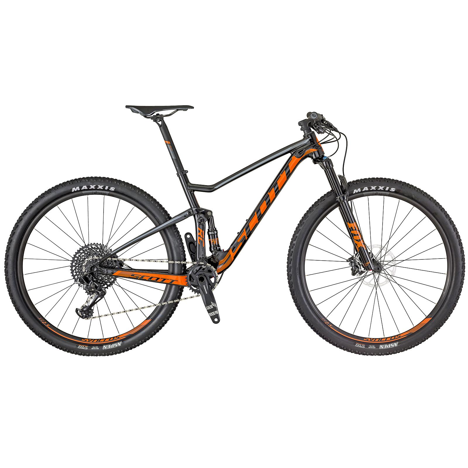 Scott Spark Rc Comp 2018 >> Scott Spark RC 900 Comp 29'' Carbon MTB Fahrrad schwarz/orange 2018   von Top Marken online ...