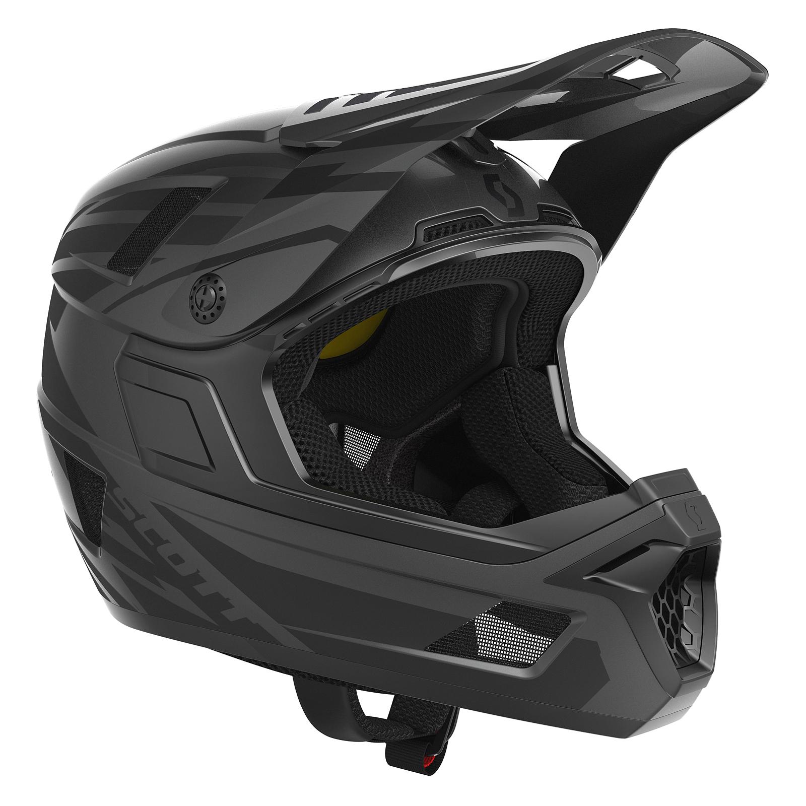 scott nero plus dh fr fahrrad helm schwarz 2019 von top. Black Bedroom Furniture Sets. Home Design Ideas