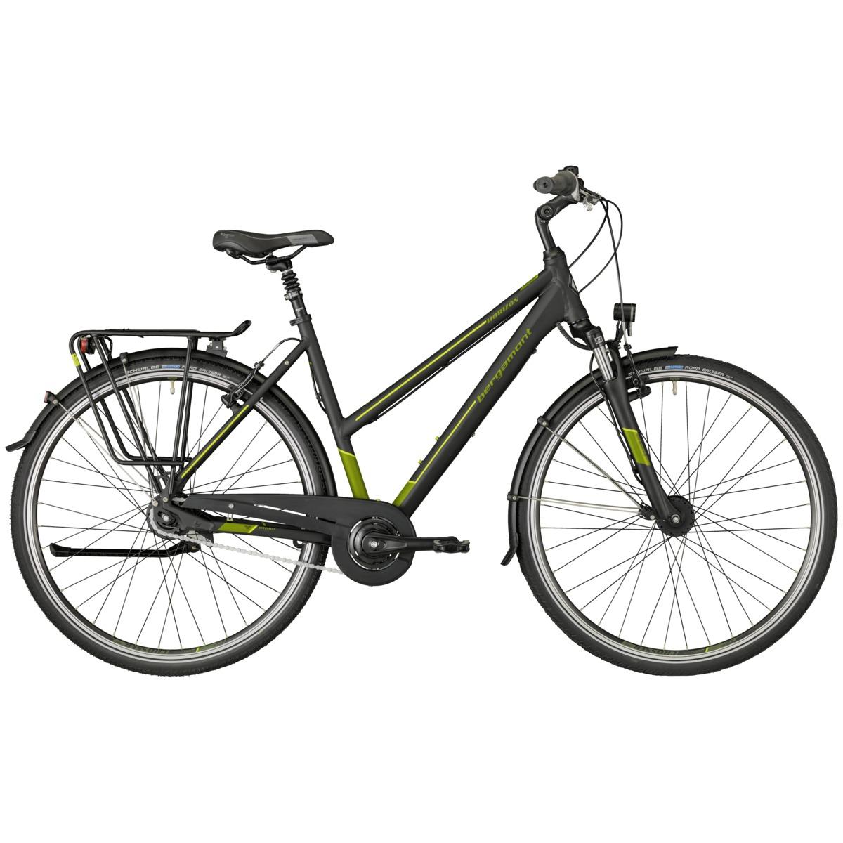 bergamont horizon n8 cb damen trekking fahrrad schwarz gr n 2018 von top marken online kaufen. Black Bedroom Furniture Sets. Home Design Ideas