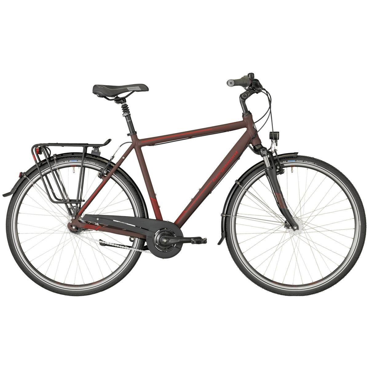 bergamont horizon n7 cb herren trekking fahrrad dunkel rot schwarz 2018 von top marken online. Black Bedroom Furniture Sets. Home Design Ideas