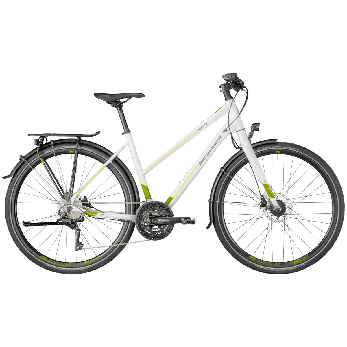 bergamont vitess 7 0 damen trekking fahrrad wei gr n 2018. Black Bedroom Furniture Sets. Home Design Ideas