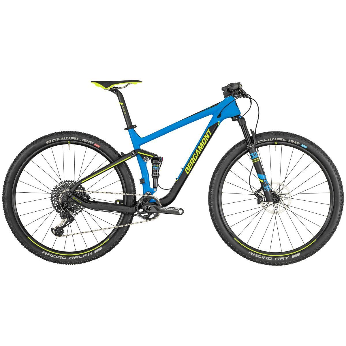 bergamont fastlane team 29 39 39 carbon mtb fahrrad blau. Black Bedroom Furniture Sets. Home Design Ideas