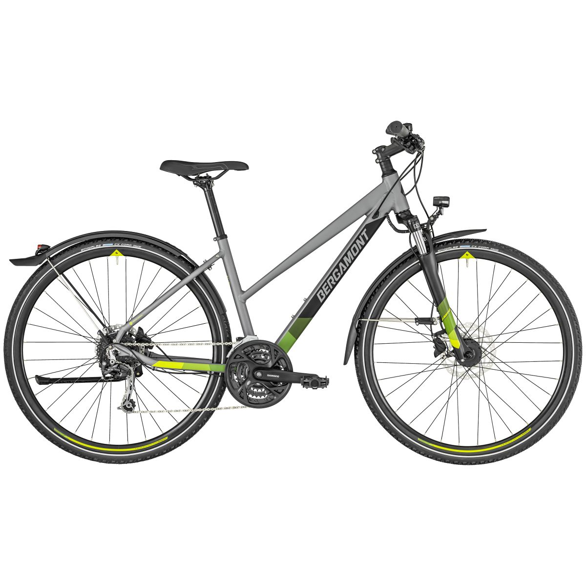 bergamont helix 6 eq damen cross trekking fahrrad. Black Bedroom Furniture Sets. Home Design Ideas
