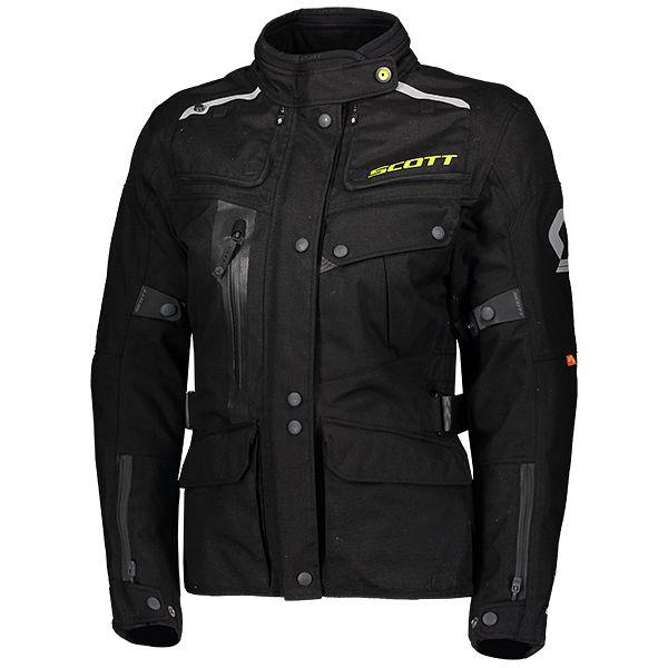 Scott Voyager Dryo Damen Motorrad Jacke schwarz 2020