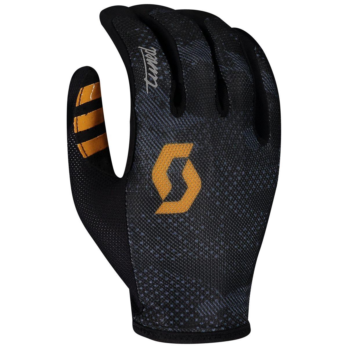 Scott Traction Tuned Fahrrad Handschuhe lang schwarz 2020