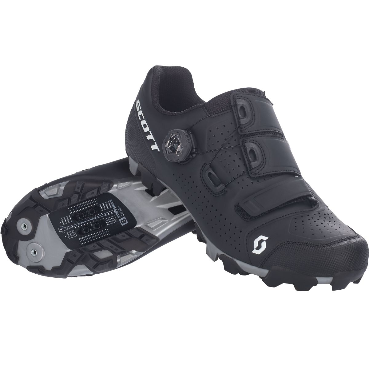 Scott MTB Team Boa Fahrrad Schuhe schwarz 2020