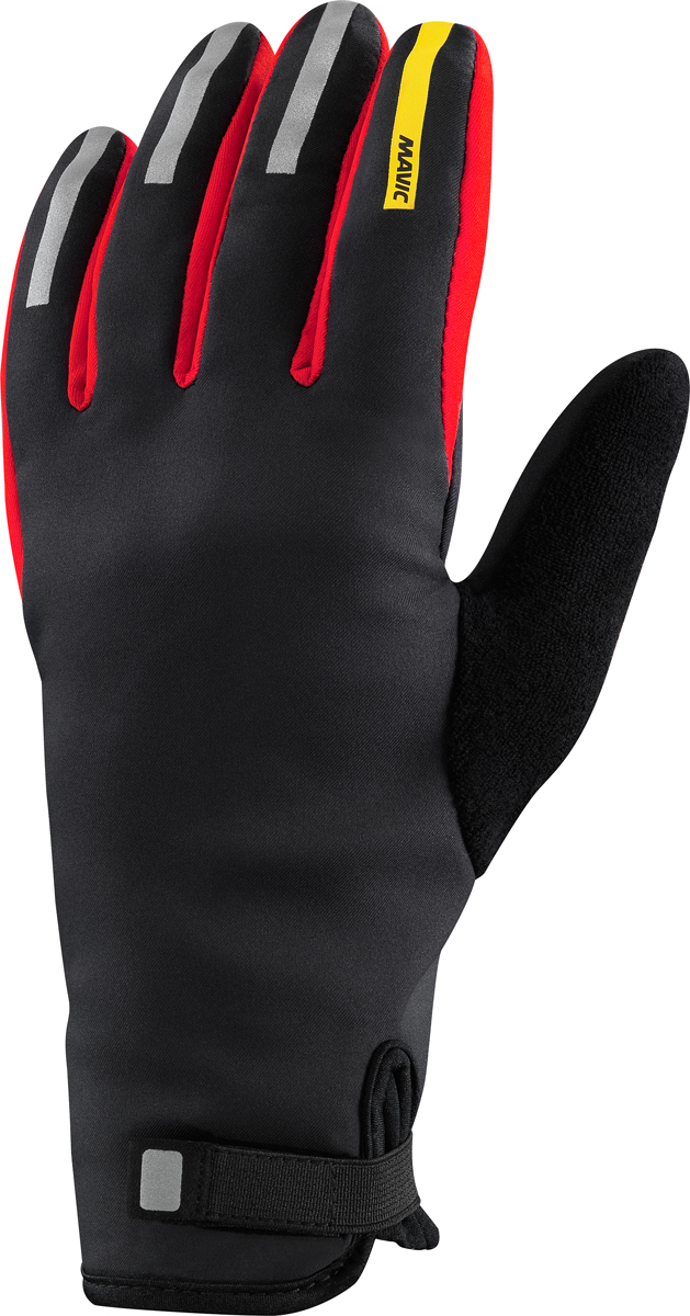 mavic aksium thermo winter fahrrad handschuhe schwarz rot. Black Bedroom Furniture Sets. Home Design Ideas