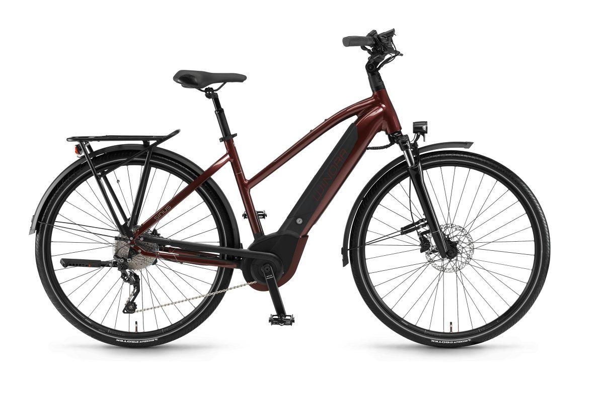 winora sinus i10 500 damen pedelec e bike trekking fahrrad. Black Bedroom Furniture Sets. Home Design Ideas