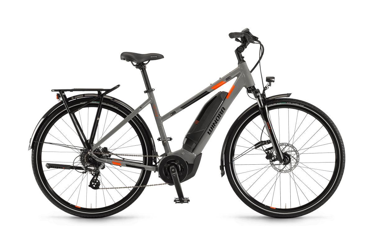 winora yucatan 8 400 damen pedelec e bike trekking fahrrad. Black Bedroom Furniture Sets. Home Design Ideas