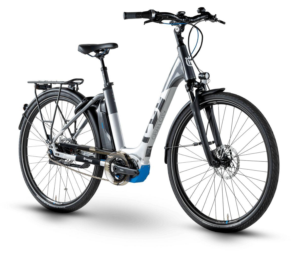 husqvarna gran city gc3 pedelec e bike city fahrrad grau. Black Bedroom Furniture Sets. Home Design Ideas