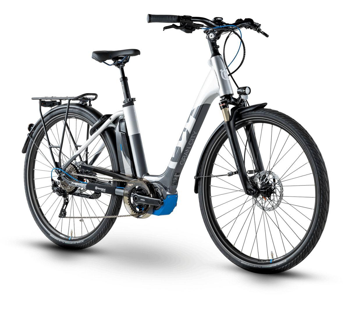 husqvarna gran city gc4 pedelec e bike city fahrrad grau. Black Bedroom Furniture Sets. Home Design Ideas