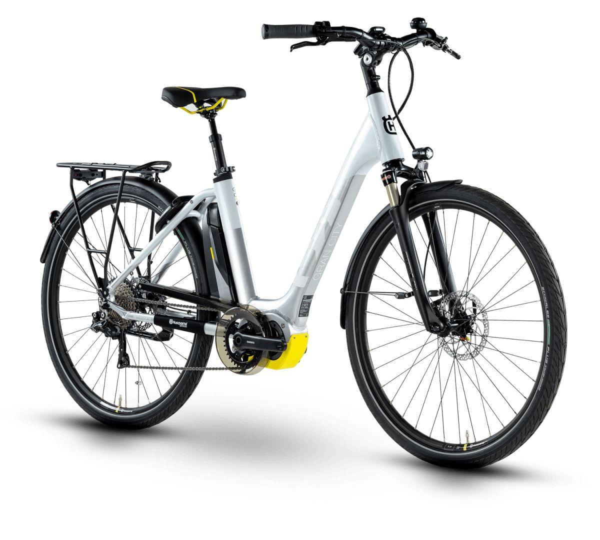 husqvarna gran city gc6 pedelec e bike city fahrrad wei. Black Bedroom Furniture Sets. Home Design Ideas
