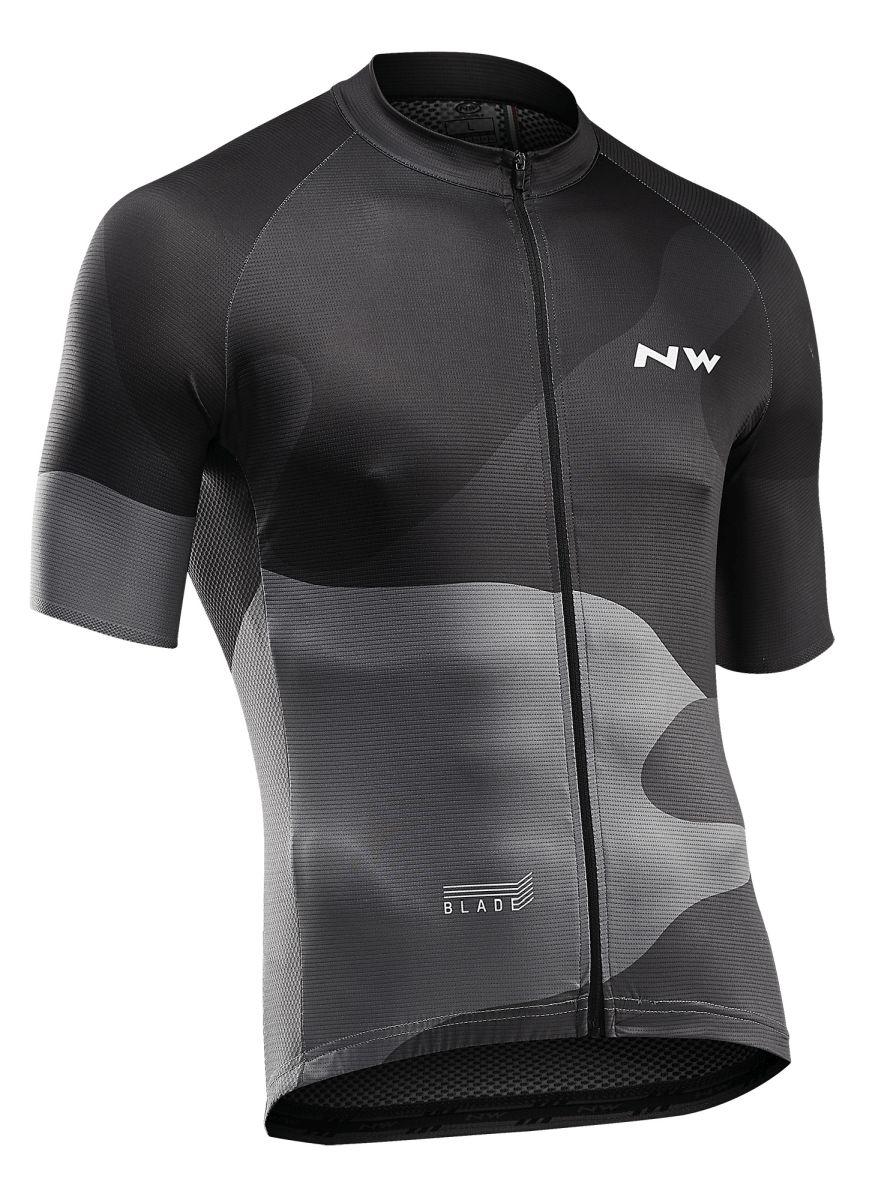 Northwave Origin Fahrrad Trägerhose kurz schwarz//grau 2019