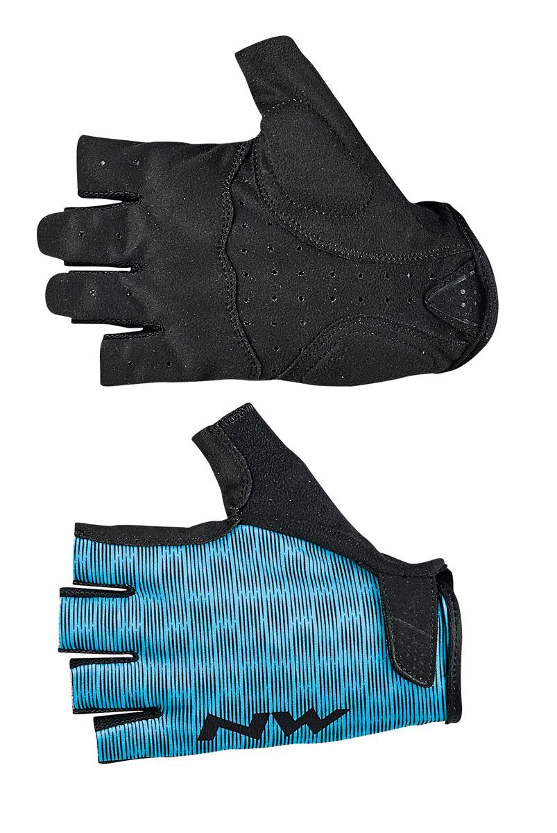 northwave flag 2 damen fahrrad handschuhe kurz blau. Black Bedroom Furniture Sets. Home Design Ideas