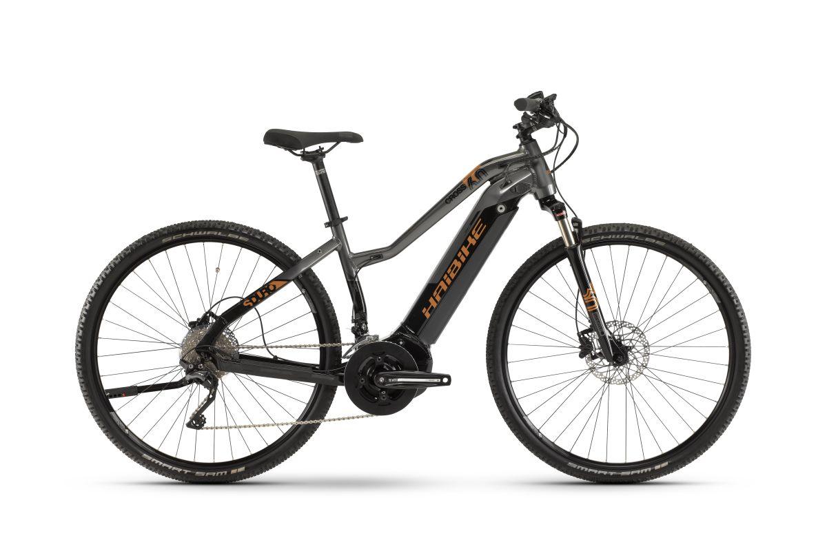 haibike sduro cross 6 0 damen trekking pedelec e bike. Black Bedroom Furniture Sets. Home Design Ideas
