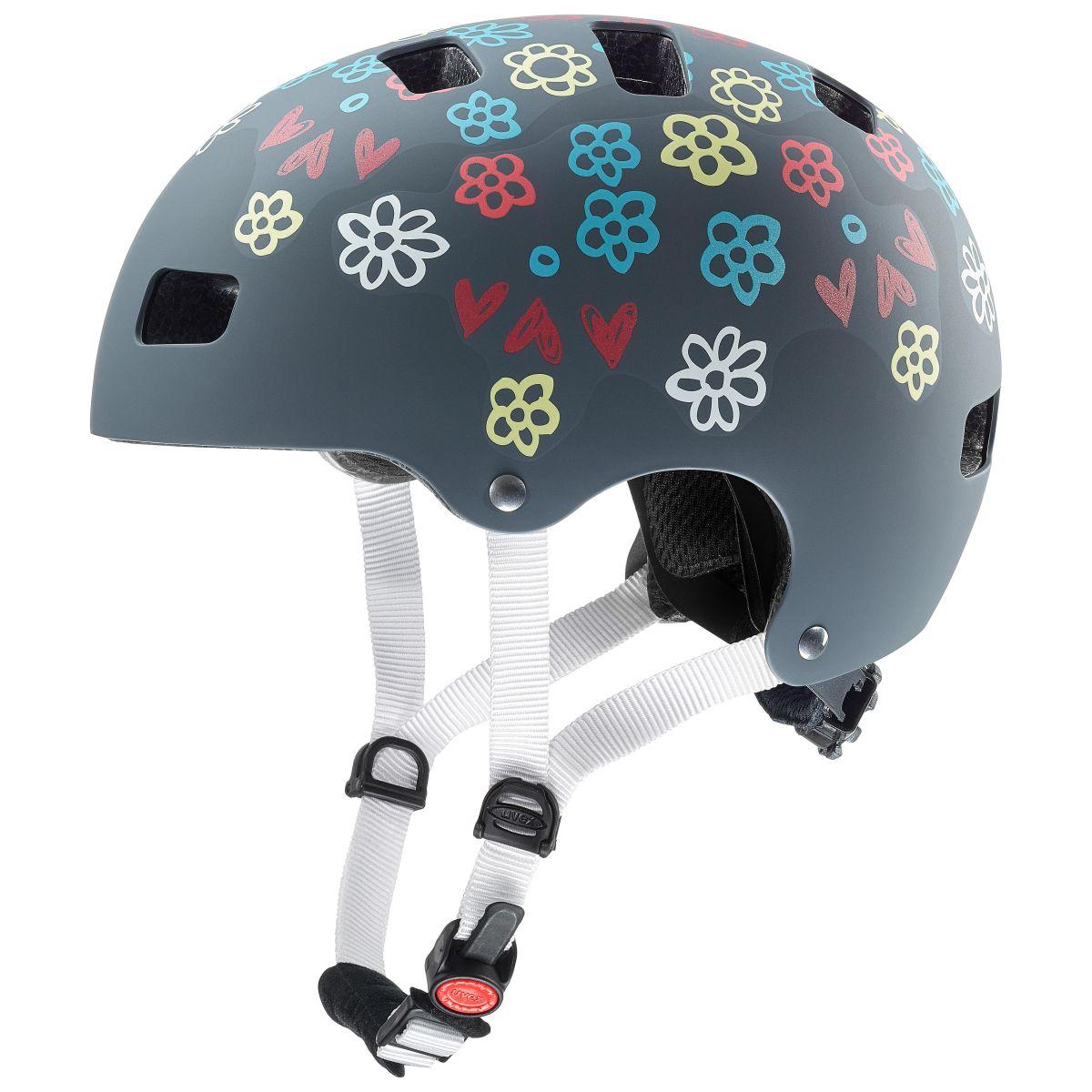 uvex kid 3 cc kinder dirtbike skate fahrrad helm grau 2019 von top marken online kaufen we cycle. Black Bedroom Furniture Sets. Home Design Ideas